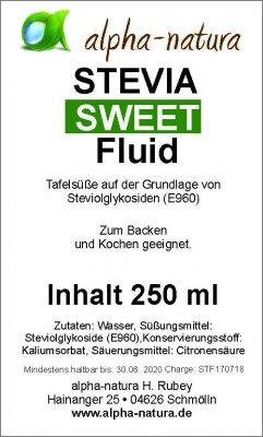 Stevia Premium Flüssig 250ml (2,50€/100ml)